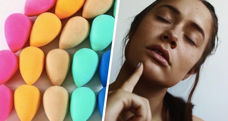 Du måste blöta din beauty blender när du använder den