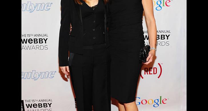 Lisa Kudrow och Brooke Shields.