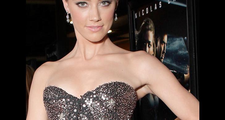 Amber Heard...