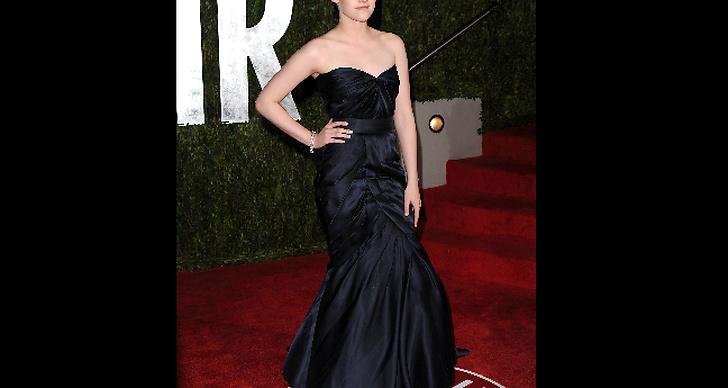 Kristen Stewart glänser på Vanity Fairs Oscar-fest.