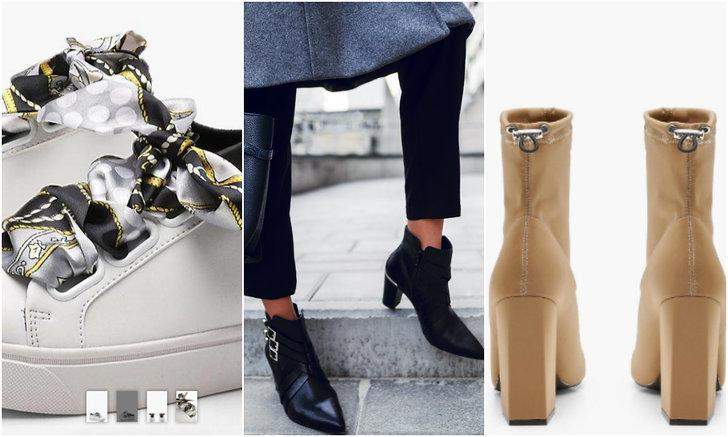 Mode, Höst, skor