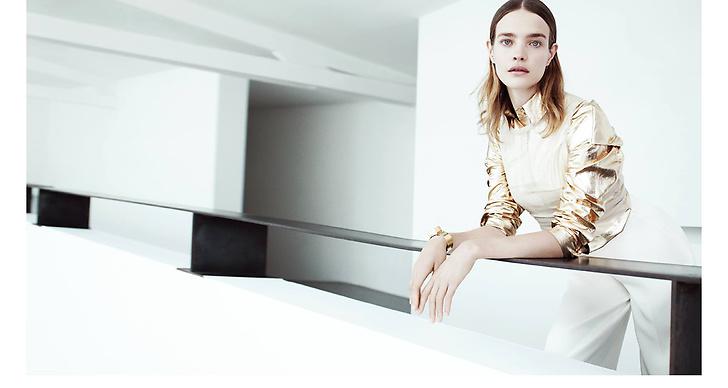 Ryskan Natalia Vodianova är en utav modevärldens mest eftertraktade modeller