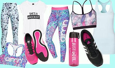 Nelly.com, River Island, Gina Tricot, träningskläder, Nike, Adidas, Modette, varumärket björn borg