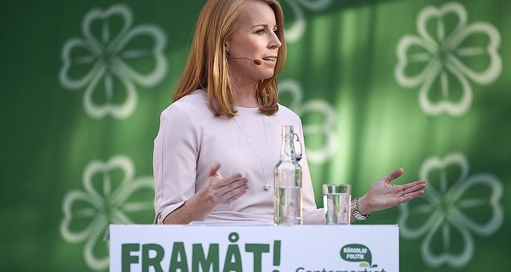 Annie Lööf på Almedalen