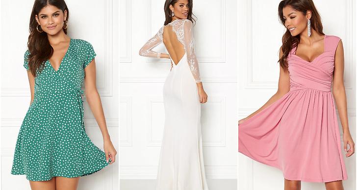 Vackra klänningar sommaren 2018