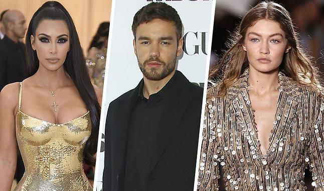Kanye West, Kim Kardashian, Miley Cyrus
