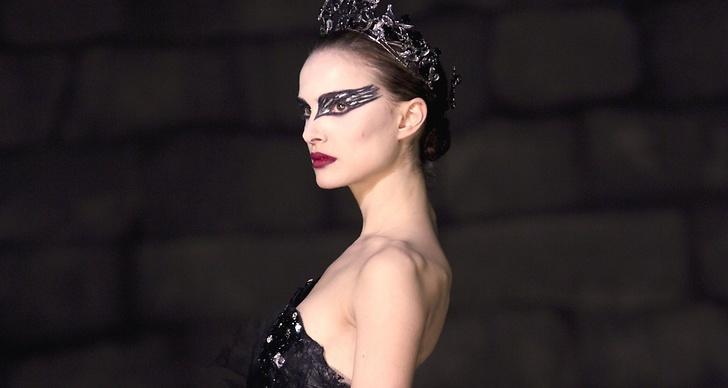 Nathalie Portman snålar inte på eyeliner i Oscarsbelönade filmen Black Swan.