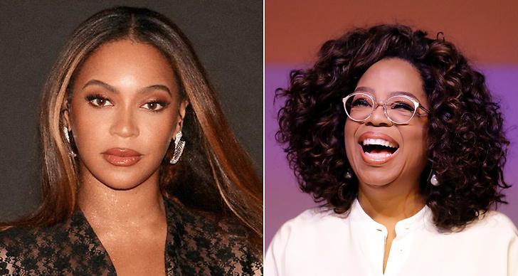 Beyoncé och Oprah Winfrey