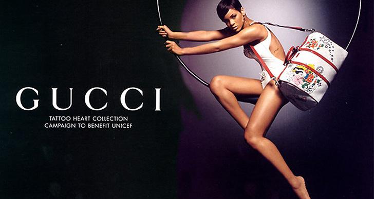 Rihanna för Gucci 2008.