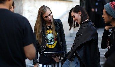 Paris, Fashion Week, snapshots