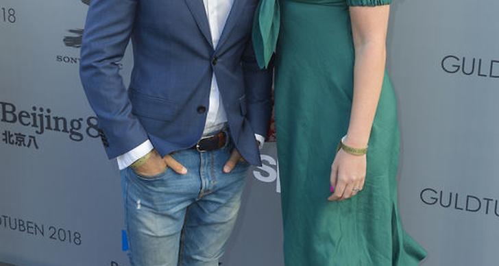Alexander Hermansson och Caroline Hermansson på Guldtuben