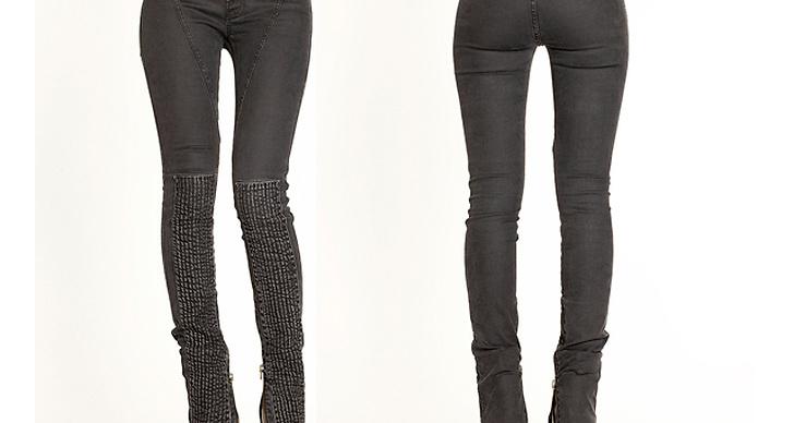 Amanda: THE LOCAL FIRM, IZZY JEANS, 1695 kr. När jag sätter på mig dessa perfekt slitna jeans förvandlas mina ben till fölunge-ben. Förlängda tändstickor. Därav har jag valt att använda dem, kanske lite väl frekvent sedan den dagen de anslöt till min byxs