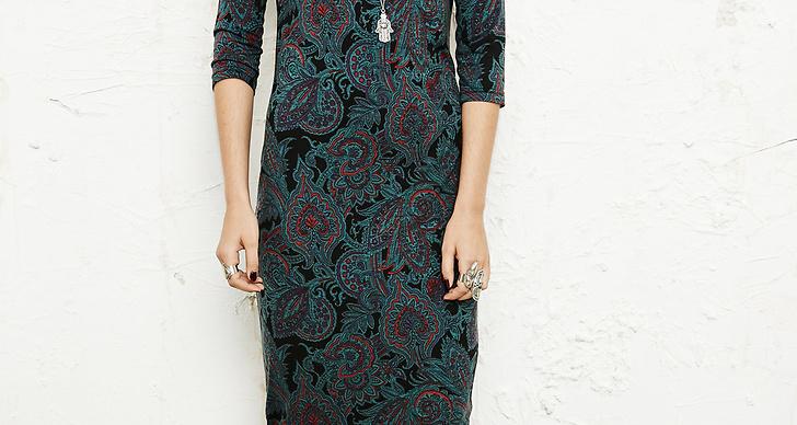 8. Midi klänning i paisley tryck från Urban Outfitters. Pris 455 kronor.