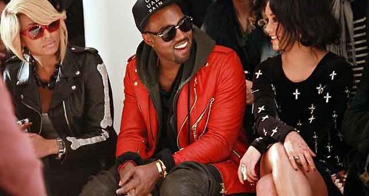 Kanye West under NYFW.