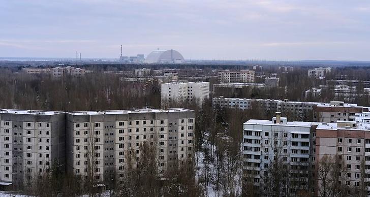 Bilder från Tjernobyl idag