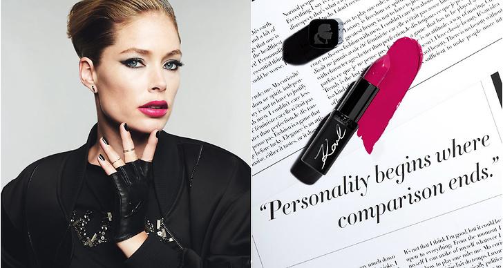 Spana in Karl Lagerfelds sista projekt i livet - en sminkkollektion tillsammans med franska L'Oreal Paris.