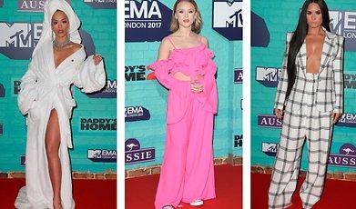 MTV EMA, Röda mattan