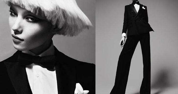 Dsquared² S/S 2011. Foto: Mert Alas & Marcus Piggot. Modeller: Fei Fei Sun (samt Crystal Renn och Anna Jagodzinska).