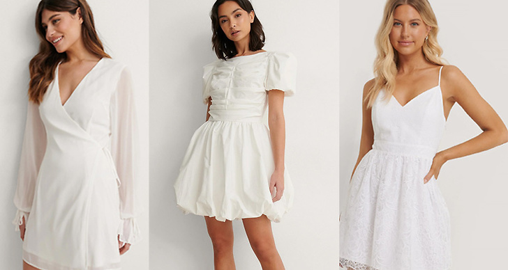 Vita klänningar
