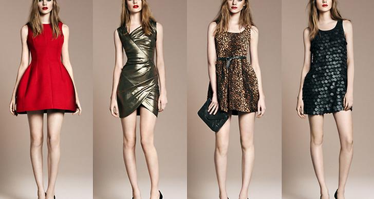 Zara lanserar sin Evening Collection i december.
