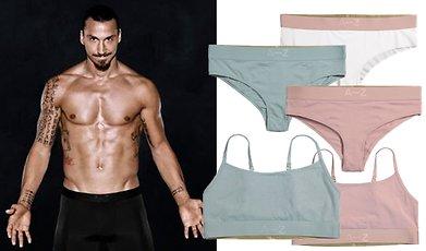 Zlatan Ibrahimovic, Underkläder