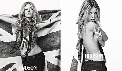 Jeans, Mick Jagger, Georgia May Jagger, Hudson, Jagger