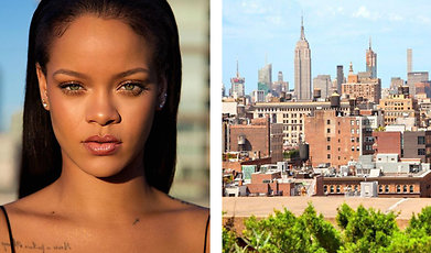 Rihanna, Bostad, New York