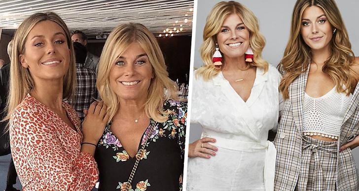 Bilden är ett montage med två bilder på Bianca Ingrosso och Pernilla Wahlgren.