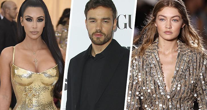 Kim Kardashian West, Liam Payne, Gigi Hadid