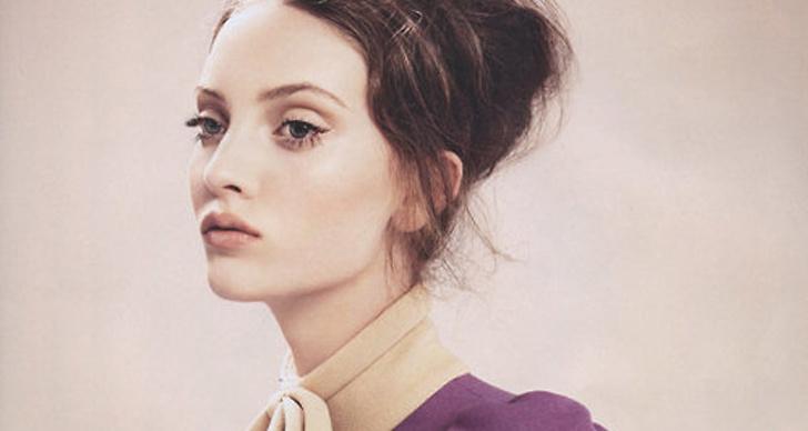 Nykomlingen Codie Young har tagit modevärlden med storm. Här syns hon i Australienska Vouge.