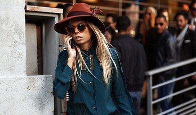 John Galliano, Fashion Week, snapshots, Paris