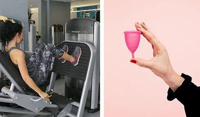 Träning, mens, menscykel
