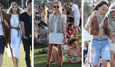 Kändis, Coachella, festival, Sommar, Outfit