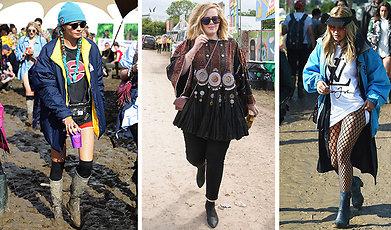 Glastonbury, Outfit, bråvalla, festival
