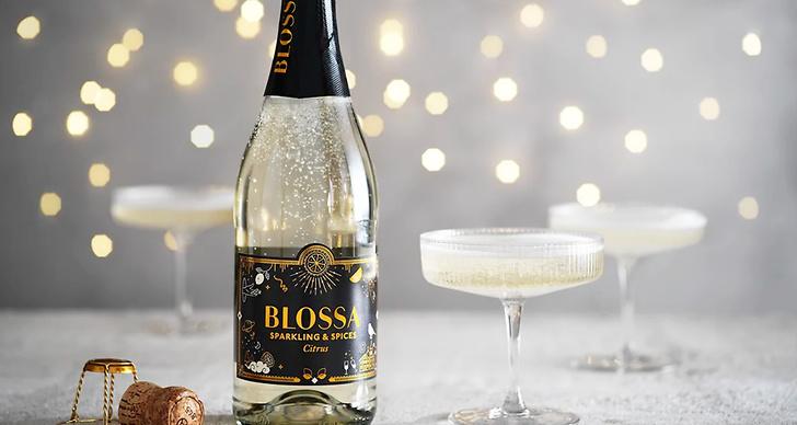 Blossa gör eget bubbel med julsmaker.