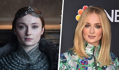 game of thrones, Tatueringar, Sophie Turner