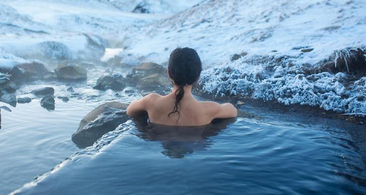 Vinterbad ger hälsofördelar