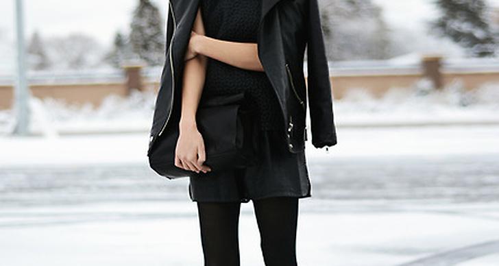 Mc-boots, Mc-jacka, skinnshorts. Helsvart är alltid snyggt! Alyssa från Canada hittar du här http://lookbook.nu/alyyyssalauu