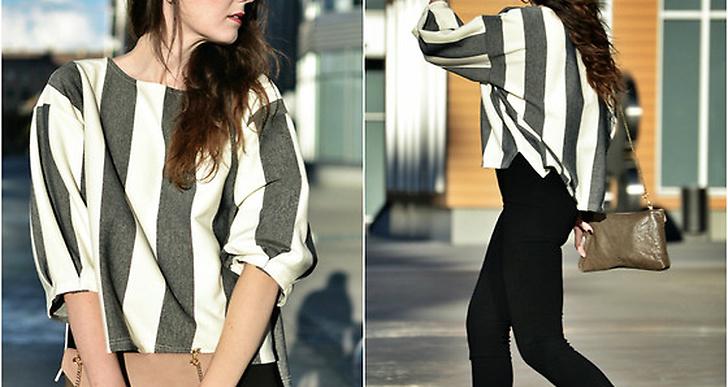 Laura från Spanien är snygg i vårens hetaste trend, svartvitrandigt. Mer av henne hittar du här http://lookbook.nu/viewsfmwindow