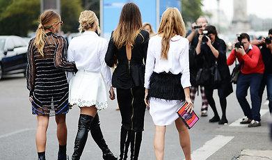 Paris, Fashion, Street style, Cara Delevingne