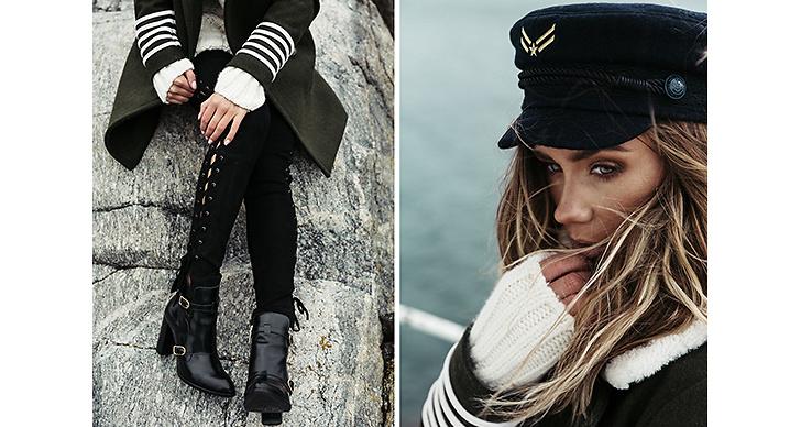 Lisa Olsson – skepparstilen ser vi mycket av i kollektionen, vi på Modette älskar det!