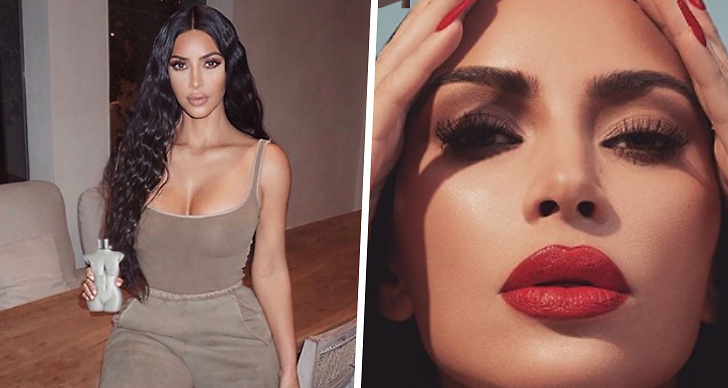 Kim Kardashian, red hair, rött hår