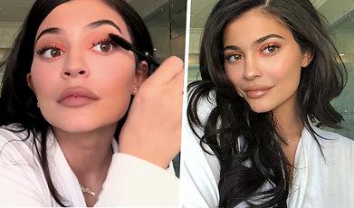 Kylie Jenner, Mascara, Smink