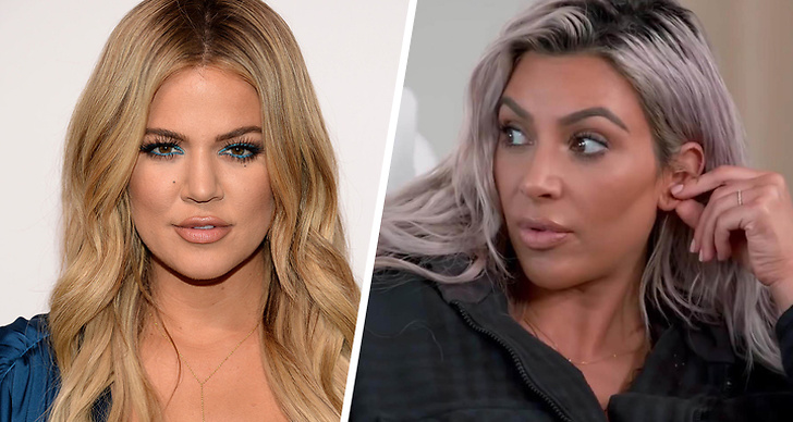 Khloe och Kim Kardashian