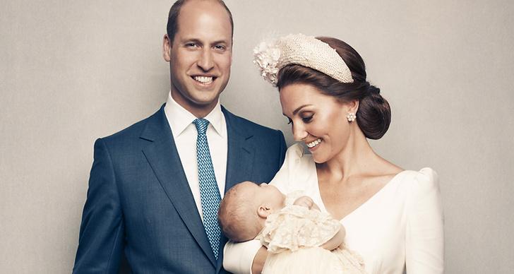 Prins William, Kate Middleton och prins Louis