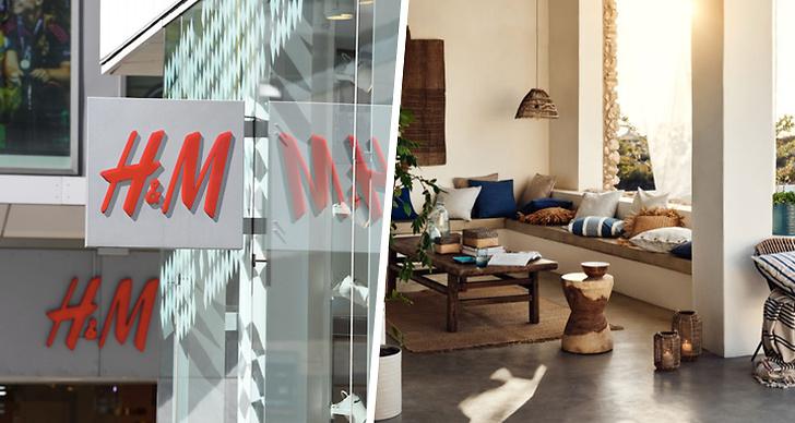H&M Home kommer nu börja sälja inredning