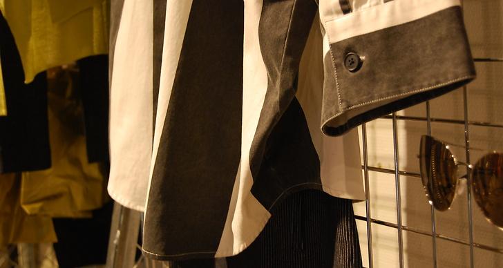 Cheap monday visade upp ränder på både skjortor och jeans