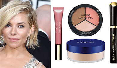 Makeup, Stilikon, Smink, Sienna Miller, Beauty, Look