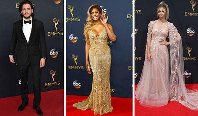 Emmy Awards, Kändis, Bäst klädda, Röda mattan
