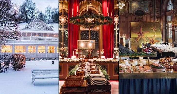 De 16 bästa julborden i Stockholm 2019.